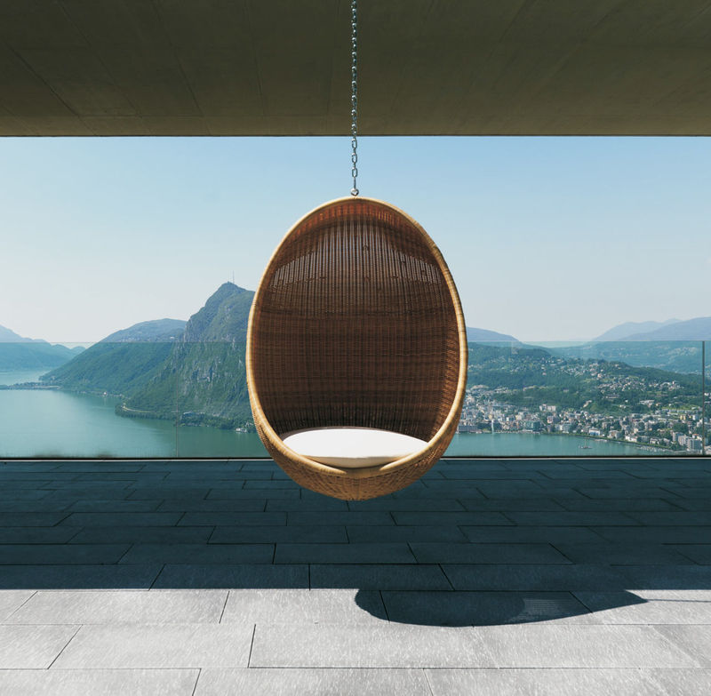 Suspended Cocoon Seating Hanging Egg Chair