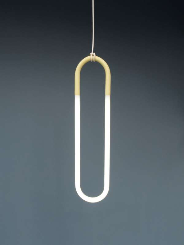 Paperclip Pendant Lamps