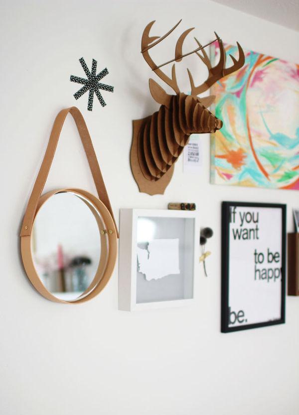 DIY Hanging Mirrors