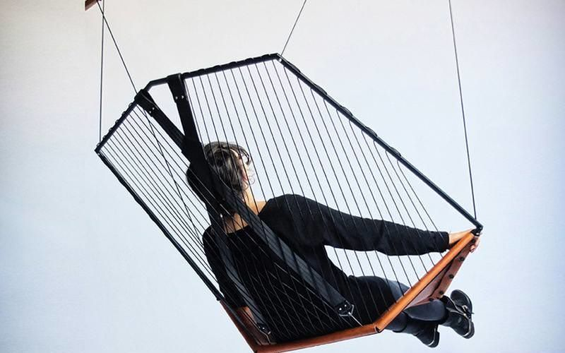 Instrument-Inspired Hanging Seats