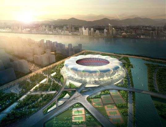Hangzhou Sports Park stadium