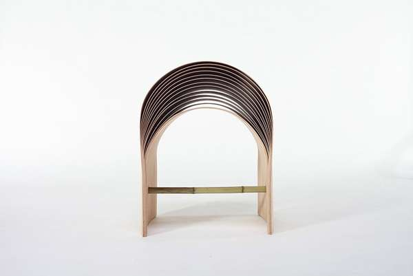Layered Bamboo Seating