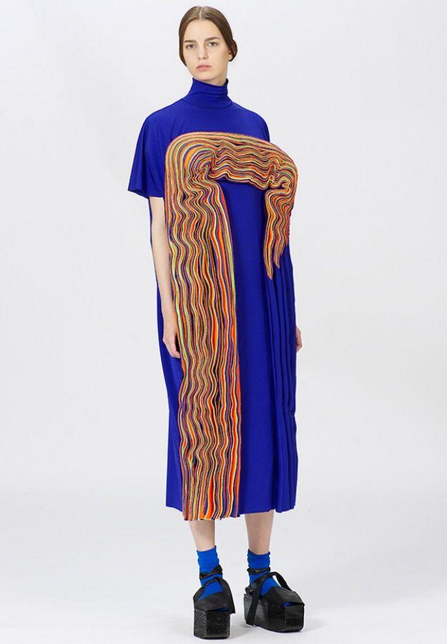 Sculpturally Folded Attire