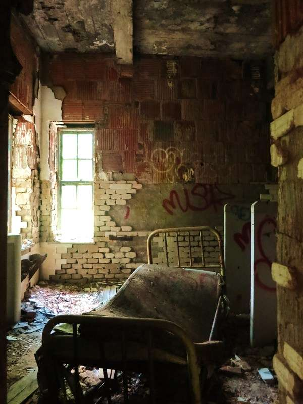 Decrepit Asylum Photography
