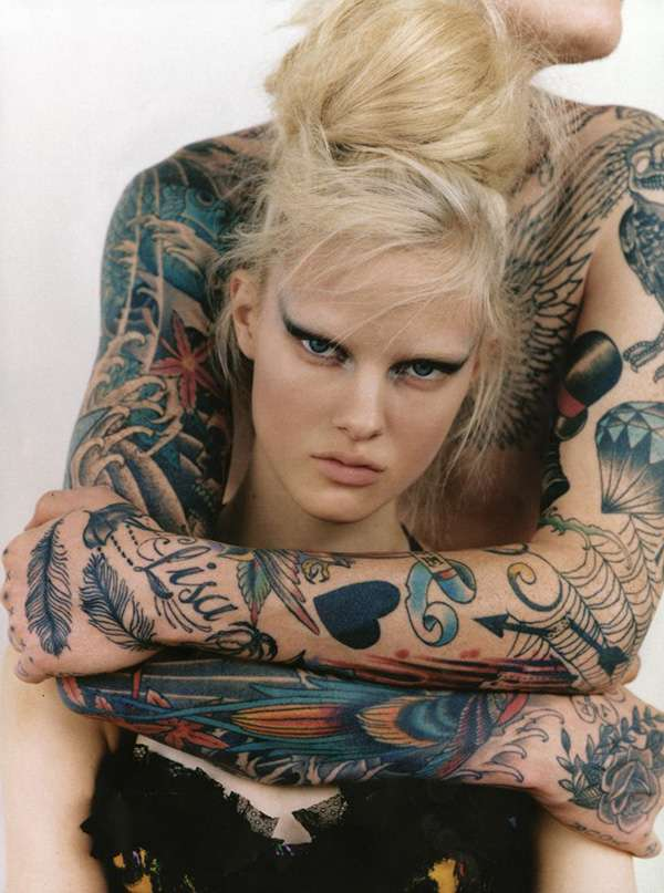 Tattooed Fashiontography