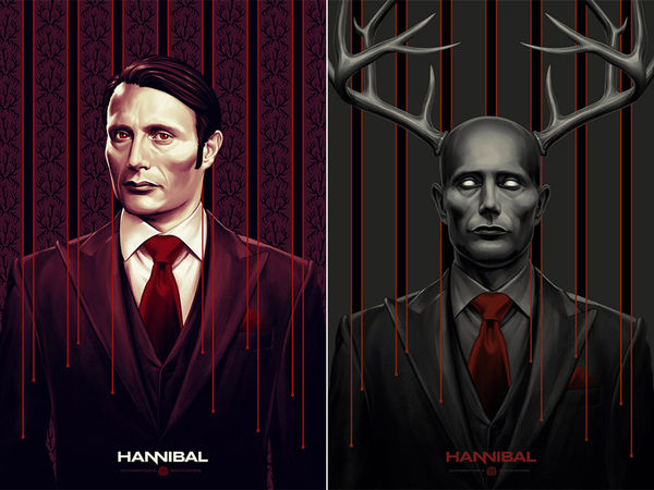 Stylized Cannibal Prints