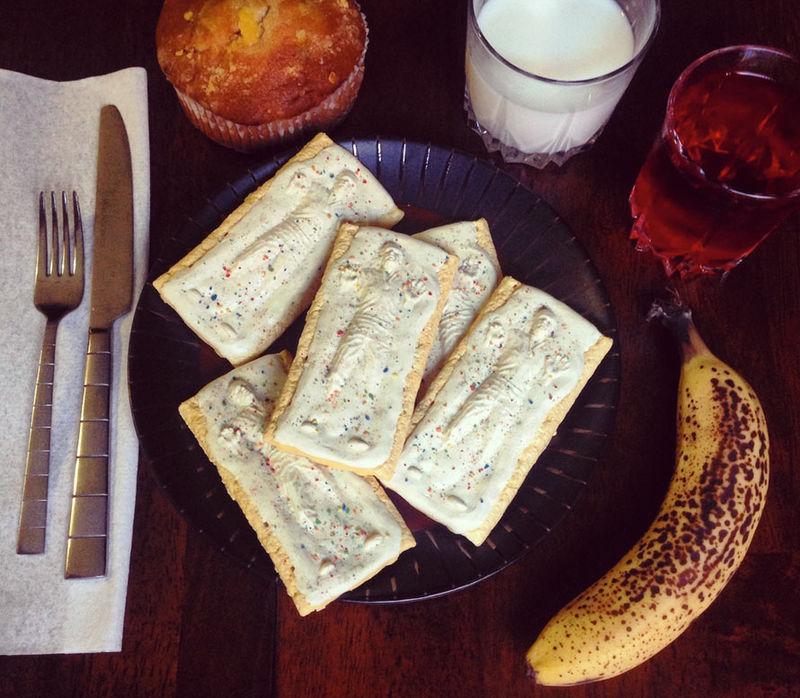 Galactic Breakfast Pastries