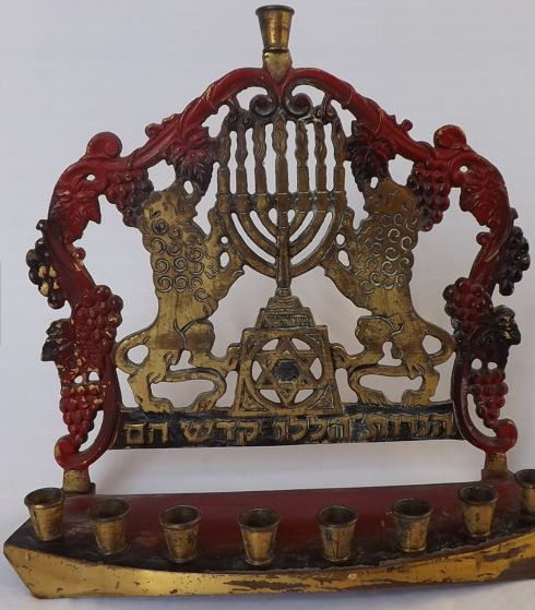 hanukkah candle holder