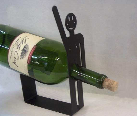 Happy Guy Wine Rack