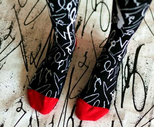 Affectionately Patterned Socks