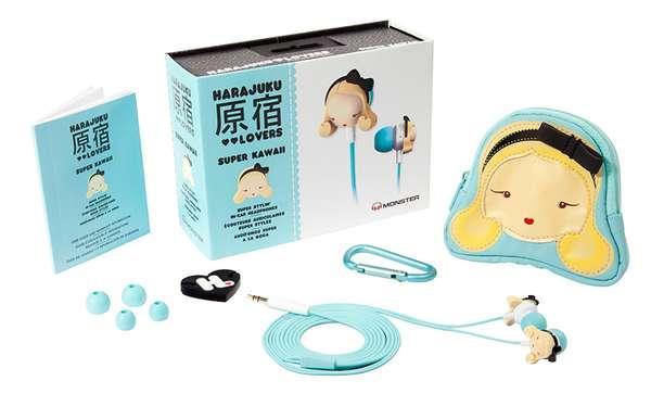 Cutesy Doll Earbuds