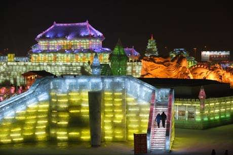 Chinas Ice Festival Features Canadian Theme