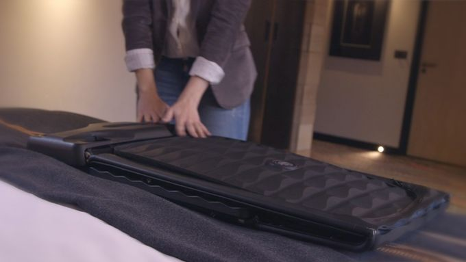 Smart Collapsible Suitcases