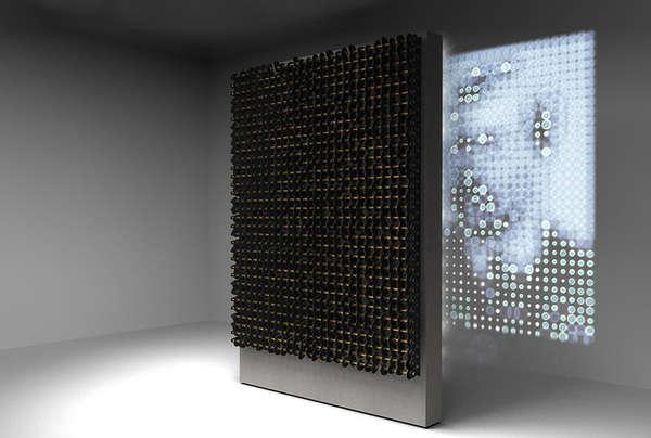 Artistic Lo-Fi Projectors