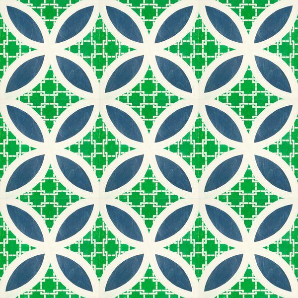 Geometric Artistic Flooring