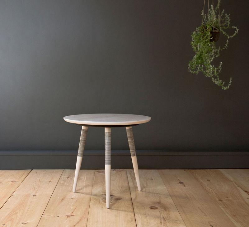 Tattoo-Inspired Minimal Tables