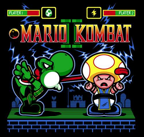 Geeky Video Game Mashups