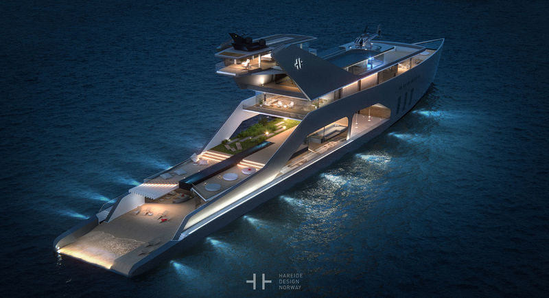 Open-Air Yacht Concepts