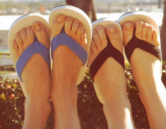 Eco-Friendly Philanthropic Flip Flops