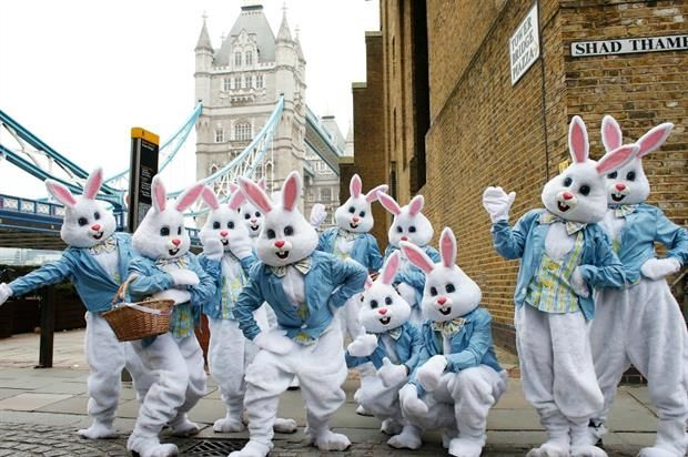 Easter Bunny Brand Activations
