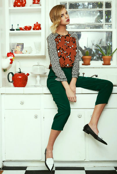 Whimsically Flirty Lookbooks