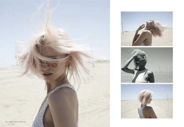 Free-Spirited Desert Photoshoots