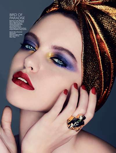 Vibrantly Turbaned Beautorials