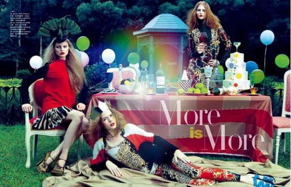 Harper's Bazaar Hong Kong 'More is More'