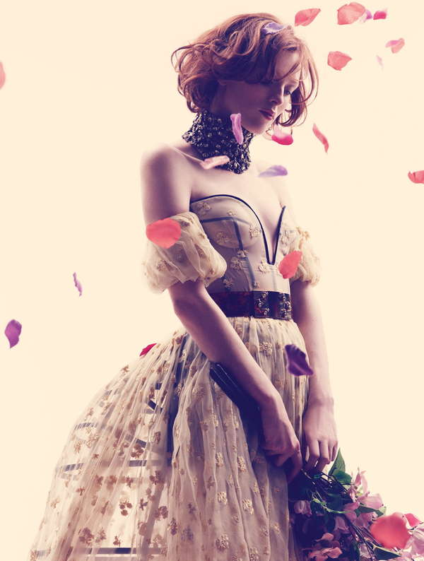 Floating Flower Editorials