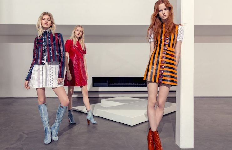 Printed Leather Editorials