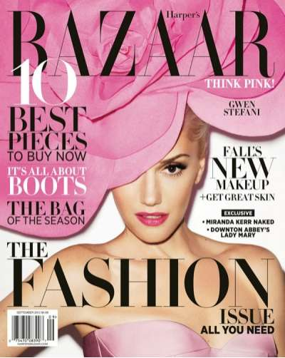 Harper's Bazaar September 2012 Cover