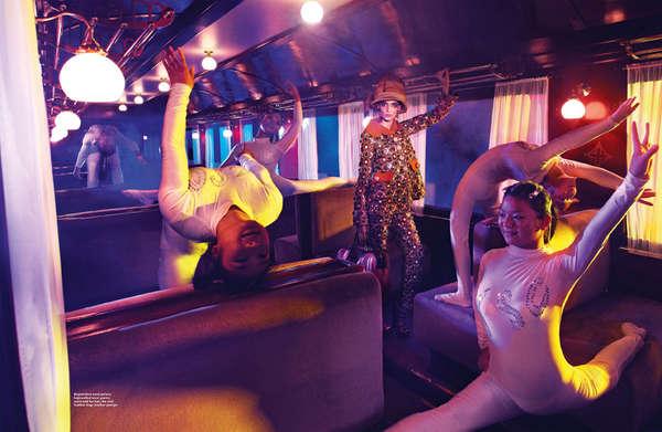 Circus Train Pictorials