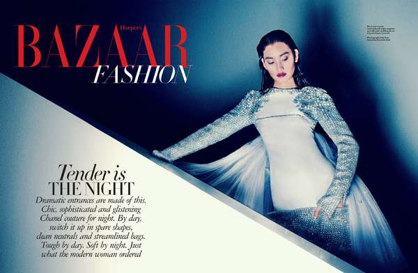 Harpers Bazaar Singapore Tender is the Night
