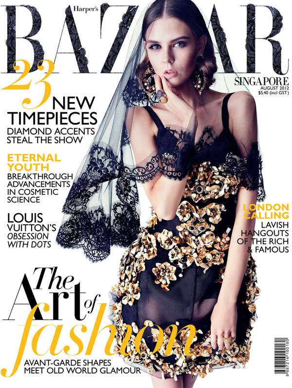 Harper's Bazaar Singapore 'Top of Pop'