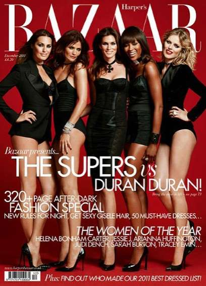 Harper's Bazaar UK December 2011
