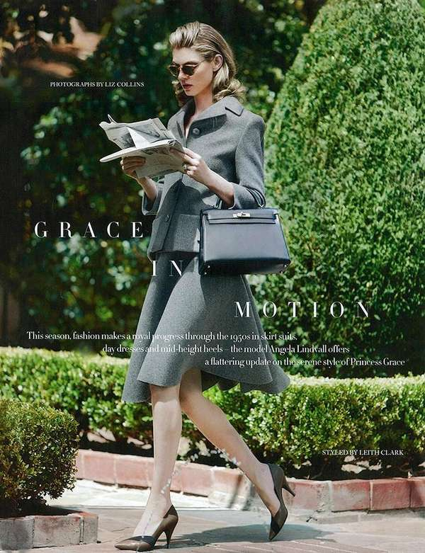 Harper's Bazaar UK 'Grace in Motion'
