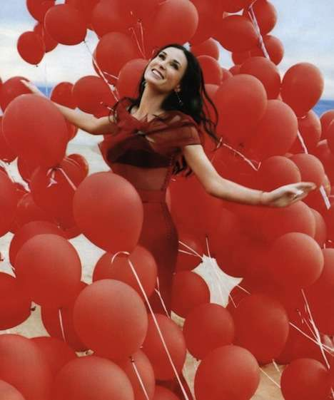 Balloon-Filled Celeb Shoots