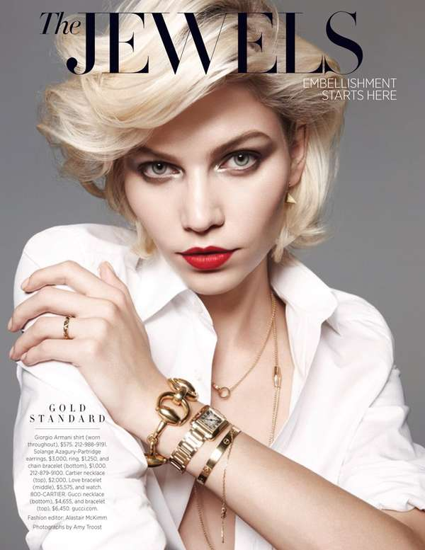 Harpers Bazaar Us 'The Jewels'