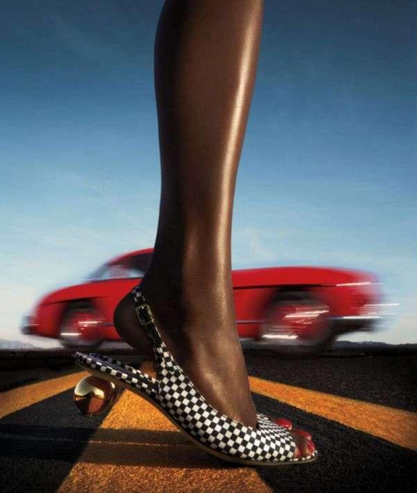 Road-Ready Footwear Editorials