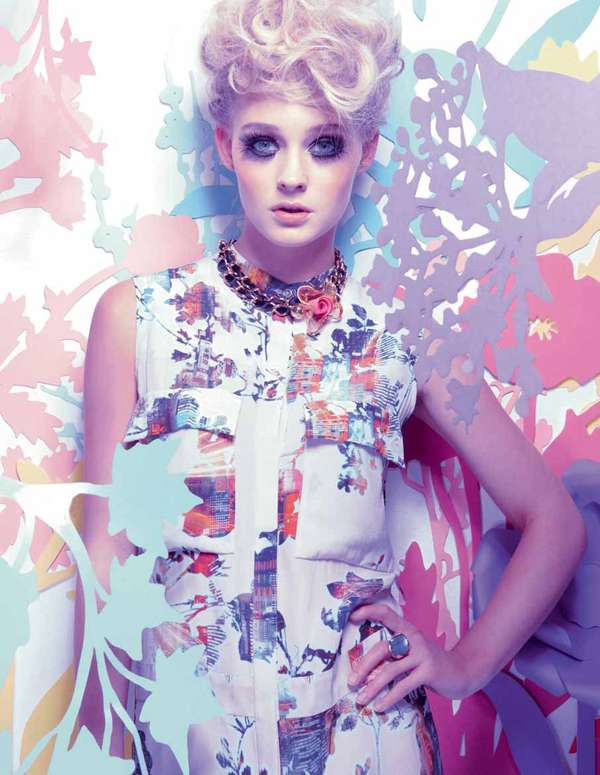 harrods magazine march 2012