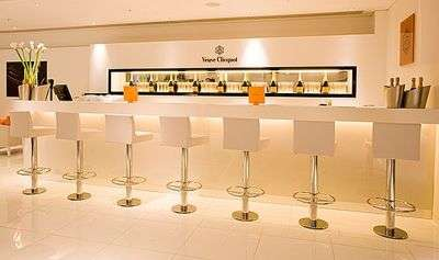 Champagne Bars in Department Stores
