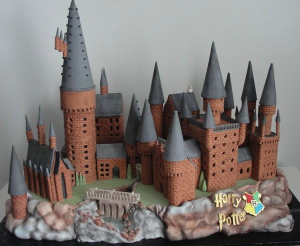 Wizarding School Cakes
