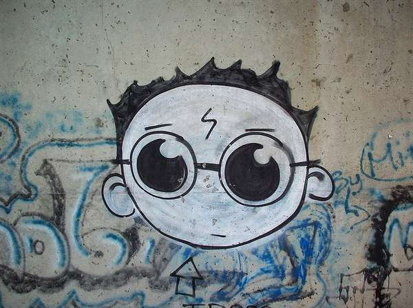 Harry Potter Graffiti