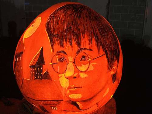 Harry Potter Pumpkins