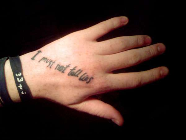 Harry potter tattoos muggles show their love for new for I must not tell lies tattoo
