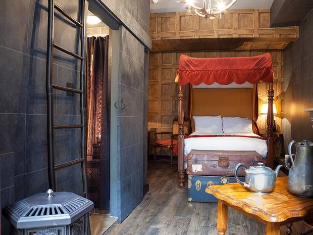 Wizard-Themed Hotels