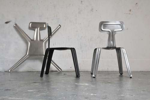 Harry Thaler Pressed Chair