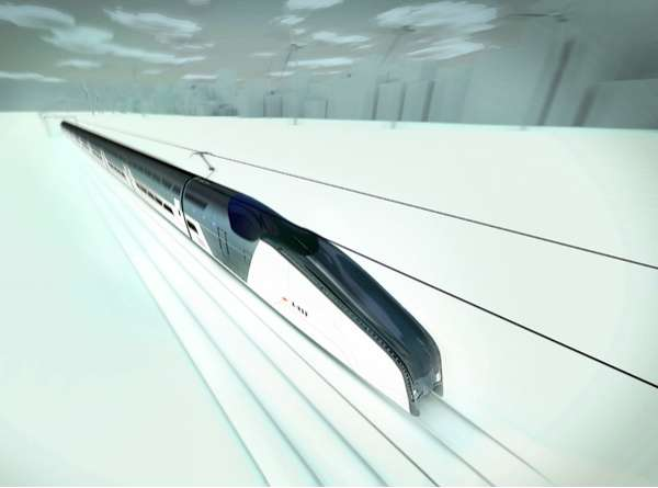 Extraordinary Eco Speed-Trains