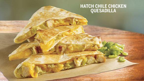Hatch Chile Quesadilla Menus