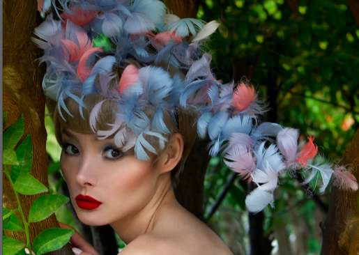 Feathered Fascinators